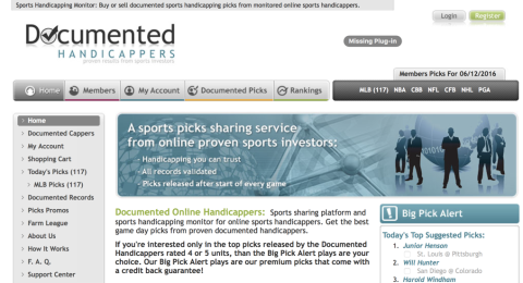 Documented Handicappers Reviews