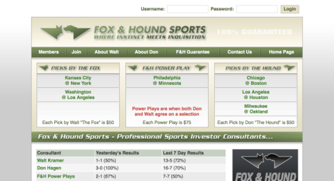 Fox & Hound Sports Reviews