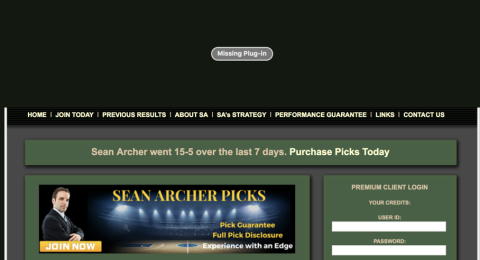 Sean Archer Picks Reviews