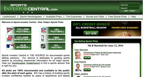 Sports Investor Central Reviews